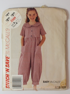 1990's Womens/Childs Pattern