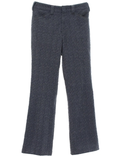 1970's Mens Flared Mod Leisure Style Disco Pants