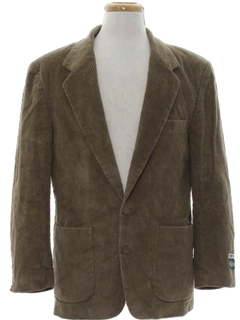 1980's Mens Members Only Corduroy Blazer Sportcoat Jacket