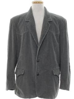 1970's Mens Western Corduroy Blazer Sport Jacket