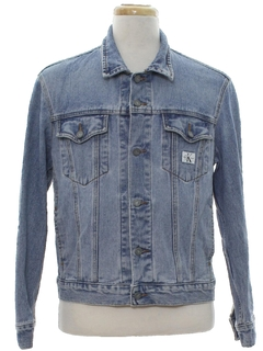 1980's Mens Totally 80s Designer Denim Jacket
