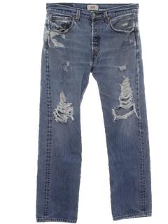 1990's Mens Grunge Levis Jeans Pants