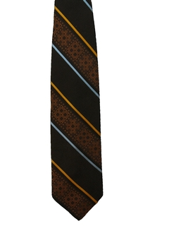 1970's Mens Wide Disco Diagonal Necktie
