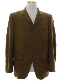 1950's Mens Mod Blazer Sport Jacket