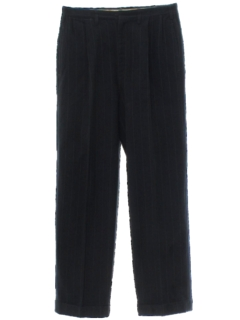 1940's Mens Pleated Swing Slacks Pants