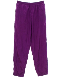 1990's Mens Totally 80s Baggy Track Pants