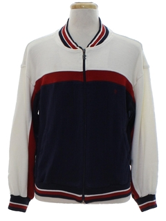 1980's Mens Totally 80s Designer Track Jacket