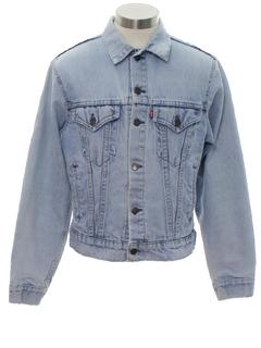 1980's Unisex Grunge Levis Denim Jacket