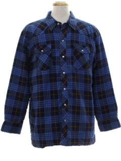 1990's Mens Western Flannel Shirt