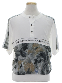 1980's Mens Club Shirt