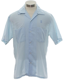 1970's Mens or Boys Mod Sport Shirt