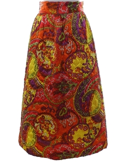 1960's Womens Hippie Skirt