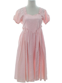 1970's Womens/Childs Flower Girl Dress