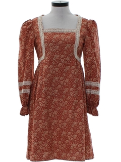 1970's WomensHippie Dress