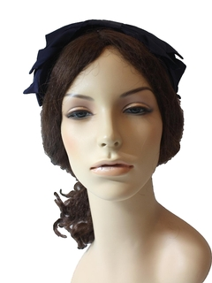 1960's Womens Accessories - Quarter Hat