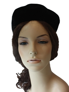 1960's Womens Accessories - Tam Hat