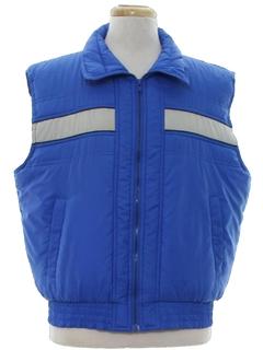 1980's Mens Ski Vest