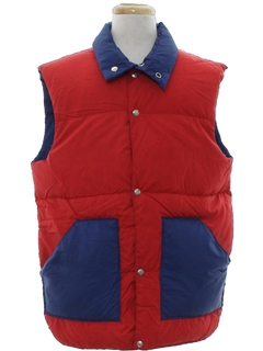 1980's Mens Totally 80s Reversible Ski Vest