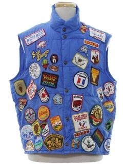 1980's Mens Ski Jacket Vest