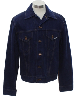 1960's Mens Mod Western Denim Jacket