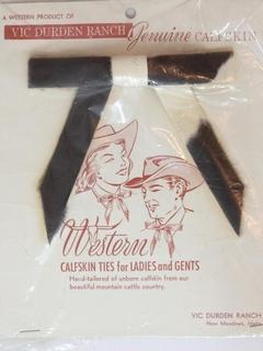 1950's Unisex Western Bowtie Necktie