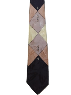 1950's Mens Abstract Necktie