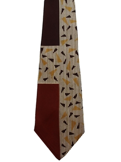1970's Mens Wide Swing Necktie
