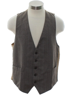 1980's Mens or Boys Suit Vest