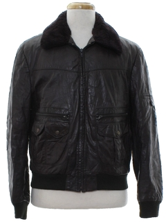 1970's Mens Bomber Leather Jacket