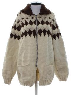 1970's Womens Hippie Sweater