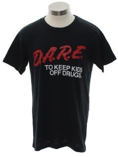 1980's Unisex Drug T-shirt