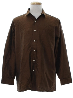 1980's Mens Silk Sport Shirt