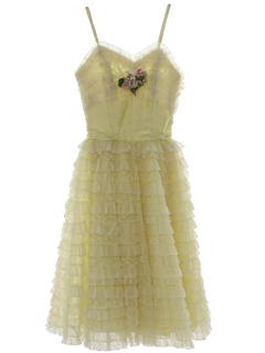 1950's Womens/Girls Prom Or Cocktail Dress