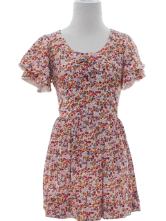 1960's Womens or Girls Mini Dress