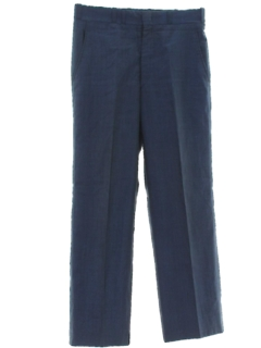 1960's Mens Flared Mod Pants