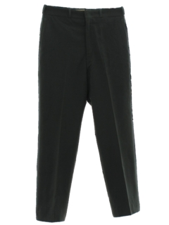 1950's Mens Flat Front Uniform Pants