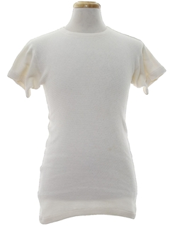1960's Mens Thermal Undershirt T-Shirt