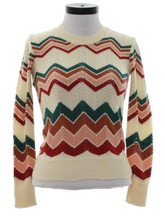 1970's Womens Mod Sweater
