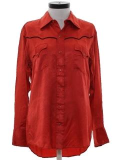 1980's Womens Western Shirt
