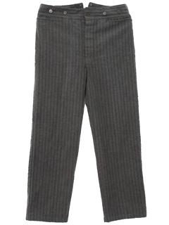 1920's Mens Western Railhead Style Pants