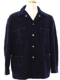 1960's Mens Mod Leisure or Field Style Car Coat Jacket