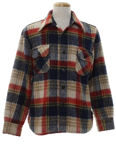 1970's Mens CPO Shirt Jacket
