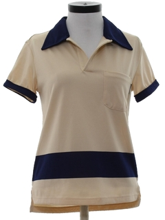 1990's Womens Designer Dolce Gabbana Knit Shirt