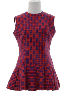 1960's Womens/Girls Mod Mini Dress