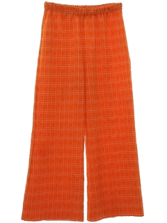 1970's Womens Bellbottom Knit Pants