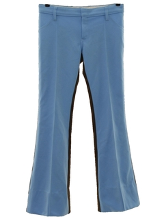 1970's Mens Bellbottom Mod Western Style Leisure Pants