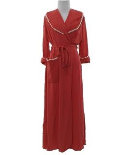 1950's Womens Robe