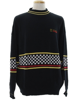1990's Mens Racing Sweater