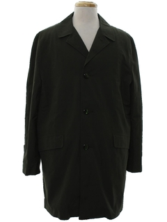 1980's Mens Trenchcoat Overcoat Jacket