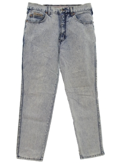 1980's Womens Totally 80s Stone Washed Jeans Denim Pants